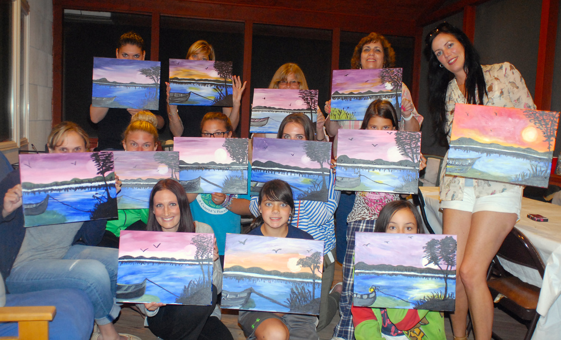 Private parties artytime painting parties for Private paint party